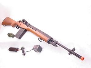 NEW Cyma M14 Wood CM032 AIRSOFT Gun MODEL REPLICA RIFLE