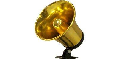 """Waterproof 5"""" Pa Speaker Horn W/Wire & Plug"""