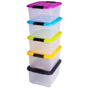 Boite de rangement systeme de rangement boite de rangement clips boite de rangement - Bac rangement jouet plastique ...