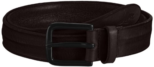 Jack & Jones Brice Leather Belt - Cintura, uomo Marrone (Braun (Black Coffee)) 95 cm