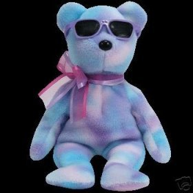 TY Beanie Baby - GRAPE ICE the Bear (Summer Gift Show Exclusive)