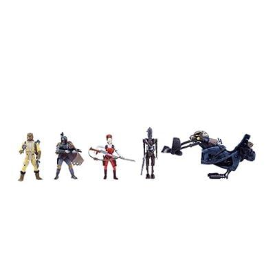 Star Wars Saga Ultimate Bounty Figuren Satz (Boba Fett, Bossk, IG-88 und Aurra Sing) online kaufen