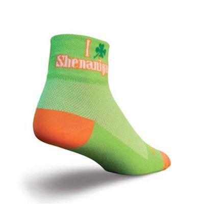Buy Low Price SockGuy Women's 2in I Shamrock Shenanigans Cycling/Running Socks (B007SHUXAU)