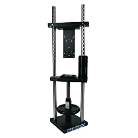 Shimpo FGS-1000H Manual Test Stand with Turn Wheel, 1000lbs Capacity
