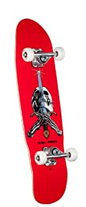 Powell-Peralta Mini Skull and Sword Complete Skateboard (Light Blue) from Powell-Peralta