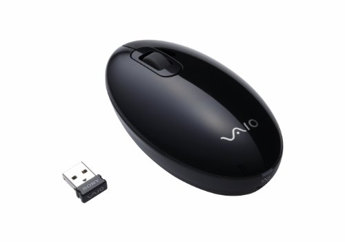 Sony VAIO Wireless Laser Mouse - Black