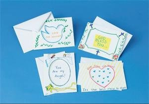 Buy Assorted Tri-Fold Cards and Envelopes (Pk/12)
