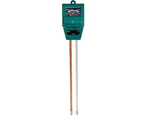 3-In-1 Multifunctional Soil Ph Tester/ Moisture/ Light Meter (Green)