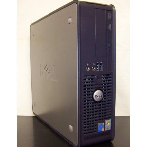 Dell GX620 SFF Desktop Computer, Powerful Intel 2.8GHz processor is included, LGA 775 CPU, Super Fast 2GB Interlaced DDR2 Memory, VGA Onboard Video, Fast 80GB SATA Hard Drive, DVD/CDRW Burn CD&#8217;s and Play DVD&#8217;s, Crystal Clear VGA Video, Intregrated Nic/Audio, XP Professional with COA