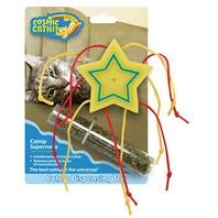 6 PACK COSMIC CATNIP DISPENSING TOY, Color: SHOOTING STAR (Catalog Category: Cat:TOYS)