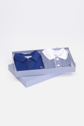 Boy's Pique Polo Onesie Gift Set