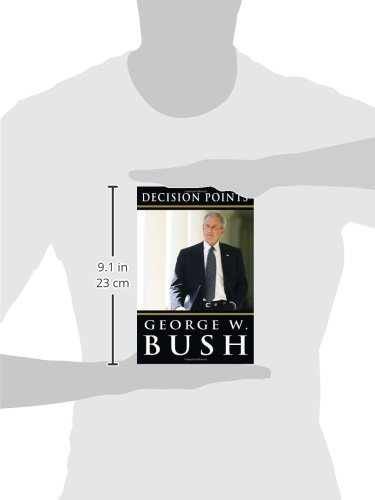 decision points by george bush The george w bush media blitz for his memoir decision points has begun tonight, the former president's interview with matt lauer aired on nbc, and he'll be joining the today show host live on-air on wednesday.