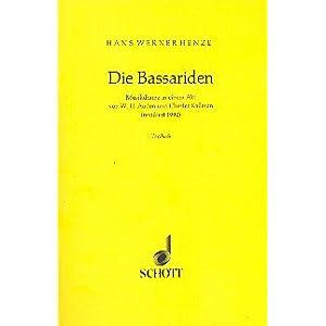 Die Bassariden: Musikdrama in einem Akt. Textbuch/Libretto.