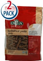 Orgran Buckwheat Pasta Spirals Gluten Free -- 8.8 oz Each / Pack of 2