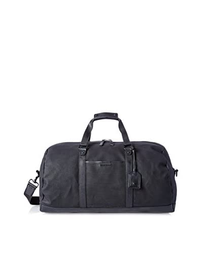 Cole Haan Men's Waxed Canvas Duffle Bag, Black