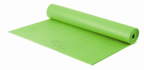 Fitness by Cathe 68-Inch by 24-Inch Yoga Mat with DVD (Green)
