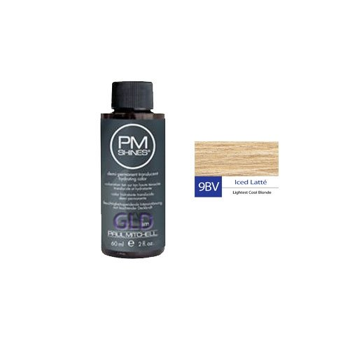Chemical Hair Dyes Paul Mitchell Shines 9bv Iced Latte 2 Oz