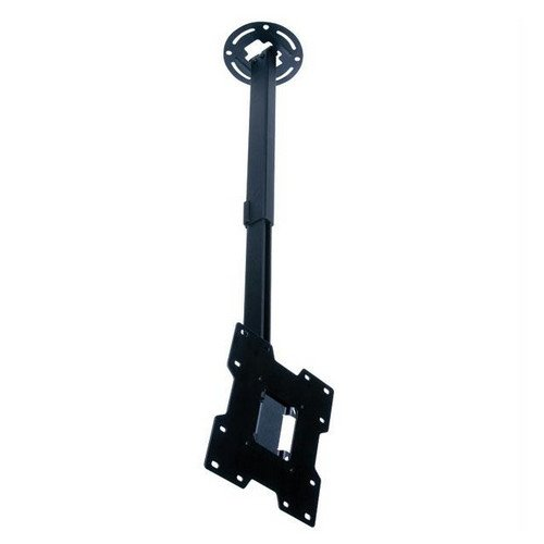 """Peerless Pc932C Adjustable Tilt Ceiling Mount For 15"""" To 37"""" Displays With 20.25"""" To 34"""" Extension (Black)"""