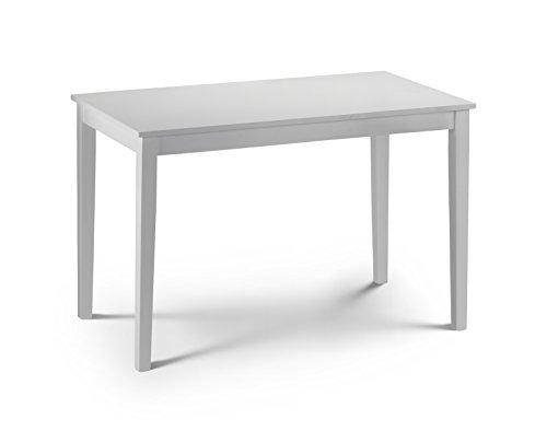 Taku Esstisch, lackiert, Weiß