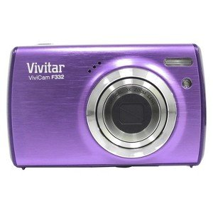Vivitar Vf332-Grp-Ta 14.1 Mp Digital Camera With 1.7-Inch Lcd (Purple)