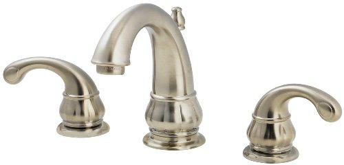 Pfister F049DK00 Treviso 8-Inch Widespread Lavatory Faucet, Brushed Nickel