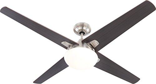 Globo 0304 - Ventilatore da soffitto Zoran con luce