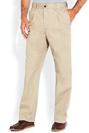 Big & Tall Pure Cotton Stormwear&#8482; Regular Fit Plain Chinos