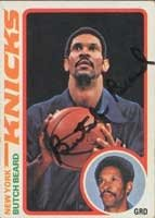 Butch Beard New York Knicks 1978 Topps Autographed Hand Signed Trading Card -... by Hall of Fame Memorabilia