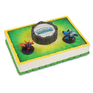 Bakery Crafts - Skylanders Cake Kit, Incl. Spryo the Dragon & Jet Vac, 3 Ct - 1