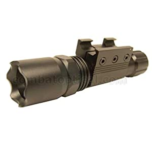 3w Led Tactical Strobe Flashlight With