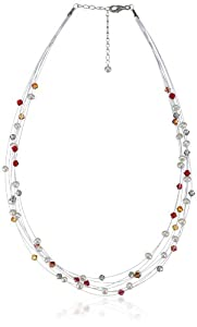 Valero Pearls - 400551 - Collier  Argent 925/1000 - Femme - Perles Cultures d'Eau douce