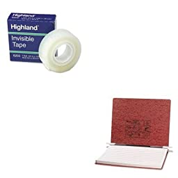 KITACC54078MMM6200341296 - Value Kit - Acco Pressboard Hanging Data Binder (ACC54078) and Highland Invisible Permanent Mending Tape (MMM6200341296)