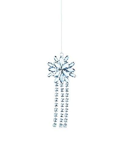 Sage & Co. Acrylic Jewel Snowflake Tassel Ornament