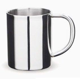 8 Oz Double Walled Stainless Steel Mug / Coffee Mug