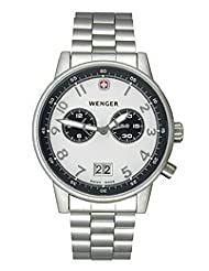 Wenger Men's 74719 Commando Dual Time 2-Eye Swiss Watch