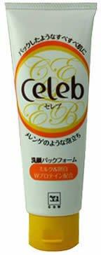 牛乳石鹸 セレブ 洗顔パックフォーム 120g