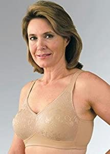 Lacy Microfiber Knit Pocket Bra