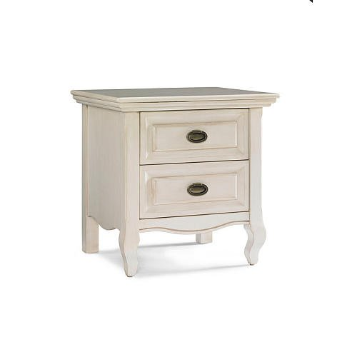 White Wooden Bedside Tables 173196 front