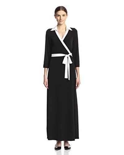 JB by Julie Brown Women's Jasper Wrap Maxi Dress