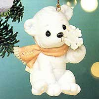 Precious Moments **There's Snow One Like You Ornament, Dated 2002** 104209