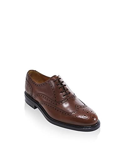 BRITISH PASSPORT Zapatos Oxford Wing Cap Marrón