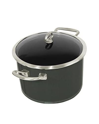 Chantal Copper Fusion 6-Qt. Casserole with Glass Lid, Onyx
