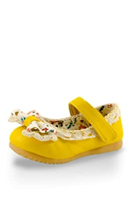 Twinkie Little Lady Lacy Bow Mary Jane Shoes