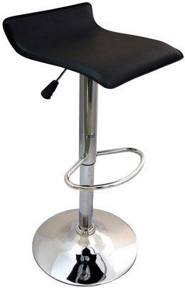 Sensational Bargains Galorea New Black Breakfast Bar Stool Faux Leather Short Links Chair Design For Home Short Linksinfo