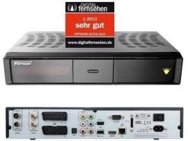 Opticum HD ACTUS DUO CI+ Hybrid 1xS 1xC inkl. 1000 GB Festplatte (Sat/Kabel Receiver)