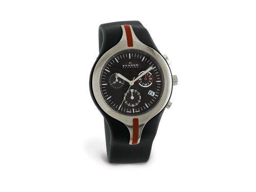 Skagen Men's Team CSC Titanium Chronograph Watch #721XLTRB - Buy Skagen Men's Team CSC Titanium Chronograph Watch #721XLTRB - Purchase Skagen Men's Team CSC Titanium Chronograph Watch #721XLTRB (Skagen, Jewelry, Categories, Watches, Men's Watches, By Movement, Swiss Quartz)