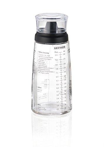 Leifheit 03195 Shaker pour Vinaigrette Verre  7,4 x 7,4 x 20 cm