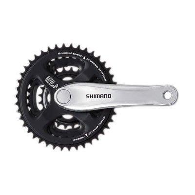 a5a0f2de0b4 Crankset: Shimano Tourney FC-M131 Crankset 170mm x 42-34-24, Silver