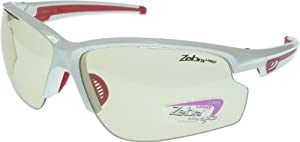 Buy Julbo Ultra Sunglasses In White, Anti-Fog Photochromic Lenses - Extra Large Size by Julbo