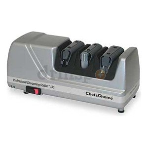 Electric Knife Sharpener, 3 Stage, 120V